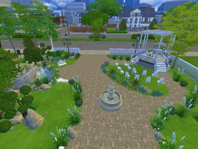 Adorable wedding venue by lalucci at Mod The Sims image 3616 670x503 Sims 4 Updates