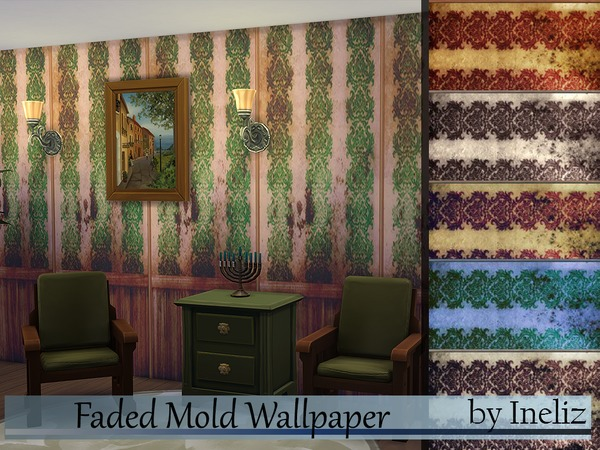 Faded Mold Wallpaper by Ineliz at TSR image 38 Sims 4 Updates
