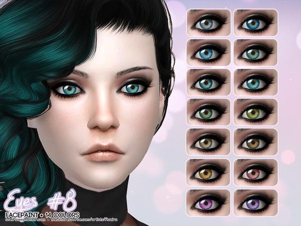 Sims 4 Eyes #8 by Aveira at TSR