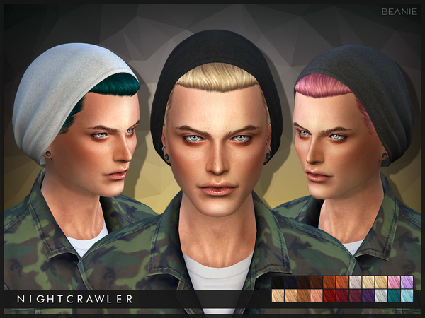 Beanie hair by Nightcrawler at TSR image 3821 Sims 4 Updates