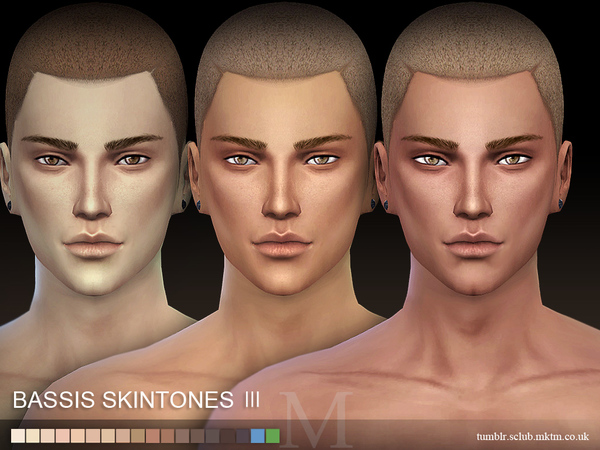 Sims 4 BS3.0 FM skin by S Club WMLL at TSR
