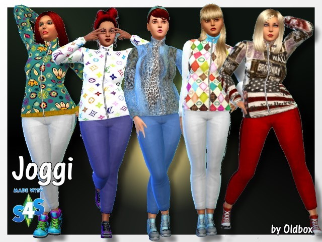 Sims 4 Jogging outfit by Oldbox at All 4 Sims