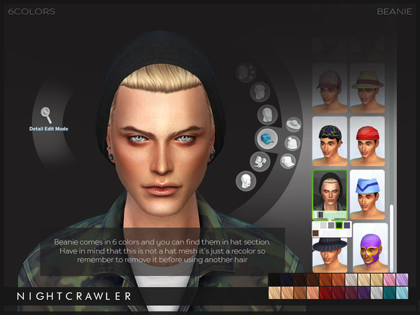 Beanie hair by Nightcrawler at TSR image 3921 Sims 4 Updates