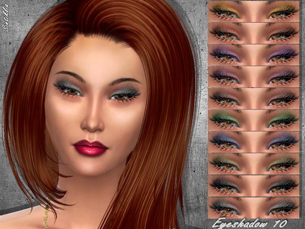 Eyeshadow 10 by Sintiklia at TSR image 4 Sims 4 Updates