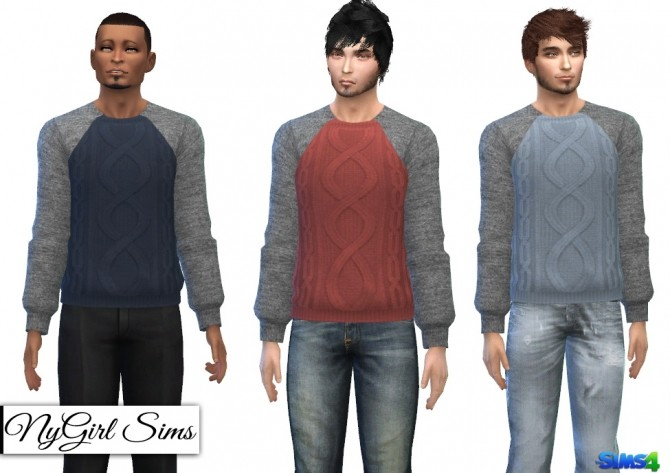 Fall Fashion Sweaters at NyGirl Sims image 430 670x473 Sims 4 Updates