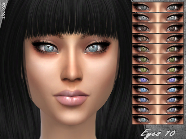 Sims 4 Eyes 10 by Sintiklia at TSR