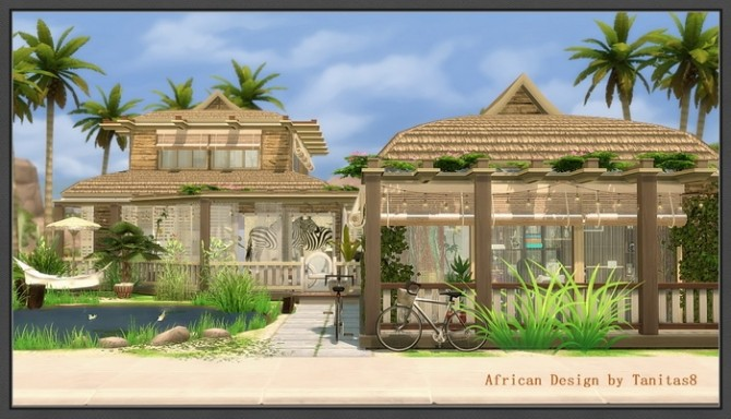 African Design house at Tanitas8 Sims image 444 670x384 Sims 4 Updates