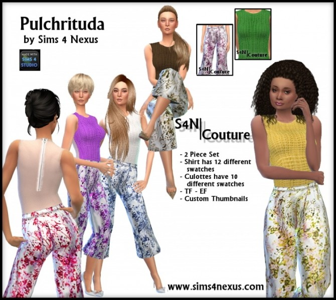 Pulchrituda outfit at Sims 4 Nexus image 458 670x599 Sims 4 Updates