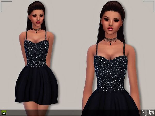 Metens Dress by Margeh 75 at TSR image 4614 Sims 4 Updates