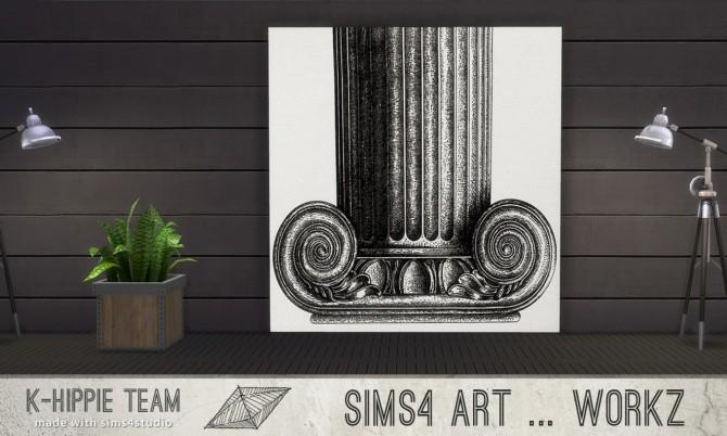 7 Artworks Ceramik Serie volume 1 at K hippie image 479 670x402 Sims 4 Updates