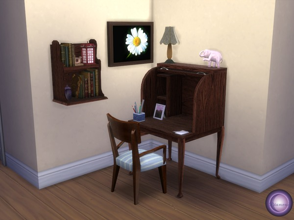 Corner Study by D2Diamond at TSR image 488 Sims 4 Updates