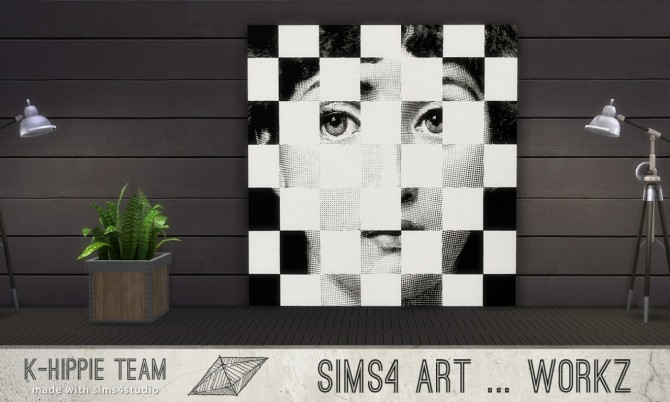 7 Artworks Ceramik Serie volume 1 at K hippie image 489 670x402 Sims 4 Updates