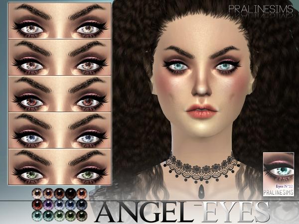 Sims 4 Angel Eyes N22 by Pralinesims at TSR