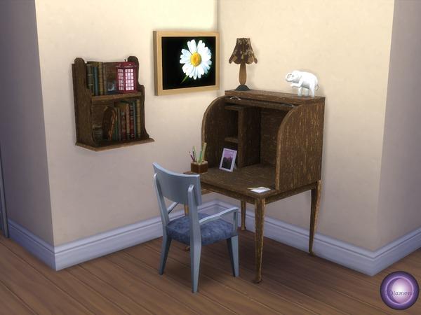 Sims 4 Corner Study by D2Diamond at TSR