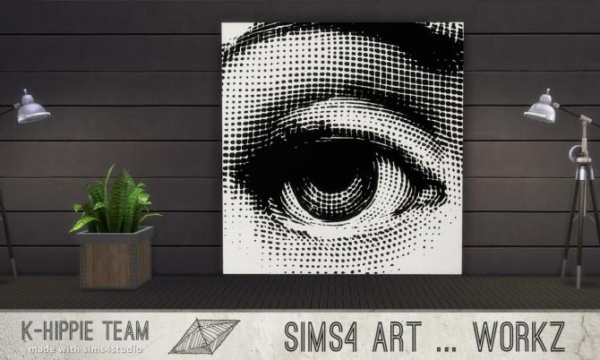 7 Artworks Ceramik Serie volume 1 at K hippie image 497 670x402 Sims 4 Updates