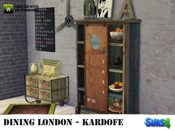 London Dining by kardofe at TSR image 5015 Sims 4 Updates