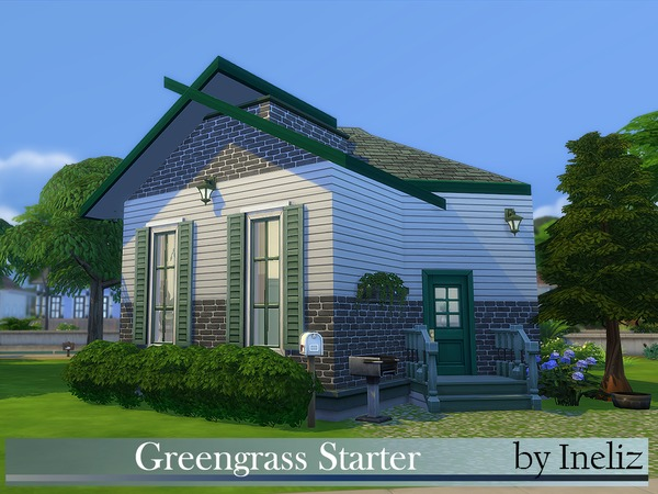 Greengrass Starter by Ineliz at TSR image 5218 Sims 4 Updates
