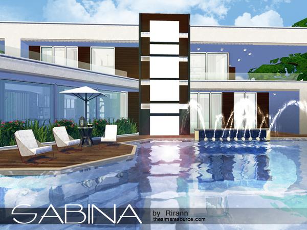 Sabina house by Rirann at TSR image 543 Sims 4 Updates
