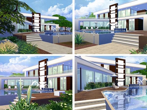 Sabina house by Rirann at TSR image 553 Sims 4 Updates