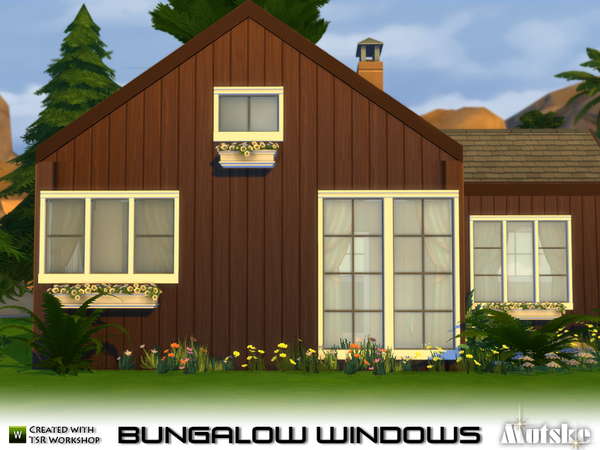 Bungalow Windows by Mutske at TSR image 560 Sims 4 Updates