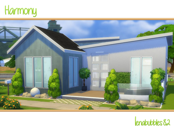 Harmony house by lenabubbles82 at TSR image 5616 Sims 4 Updates