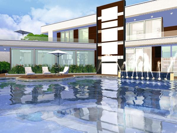 Sabina house by Rirann at TSR image 563 Sims 4 Updates