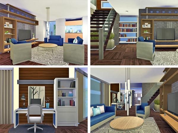 Sabina house by Rirann at TSR image 573 Sims 4 Updates