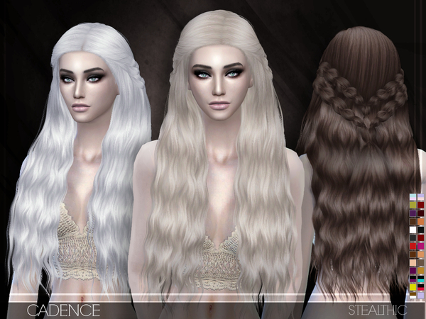 Cadence Hair by Stealthic at TSR image 589 Sims 4 Updates