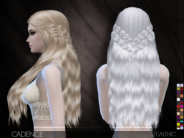 Cadence Hair by Stealthic at TSR image 6010 Sims 4 Updates