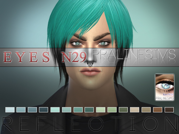 Sims 4 Reflection Eyes N29 by Pralinesims at TSR