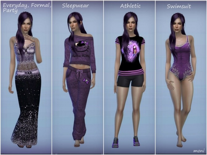 Violet by Moni at ARDA image 605 670x503 Sims 4 Updates