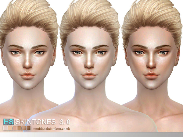 Sims 4 3.0 HS skintone all ages by S Club WMLL at TSR