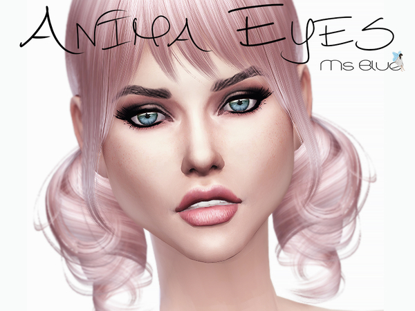 Sims 4 Anima Eyes by Ms Blue at TSR