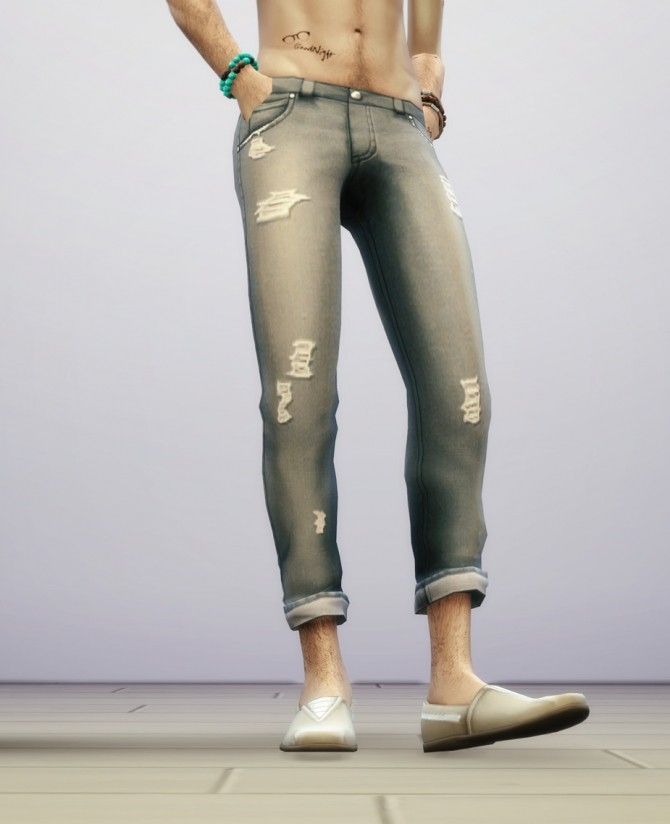 SP03 Distressed Jeans Edit M at Rusty Nail image 6119 670x824 Sims 4 Updates