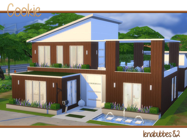 Sims 4 Cookie house by lenabubbles82 at TSR