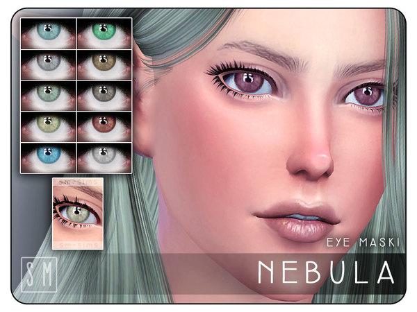 Sims 4 Nebula Eye Mask by Screaming Mustard at TSR