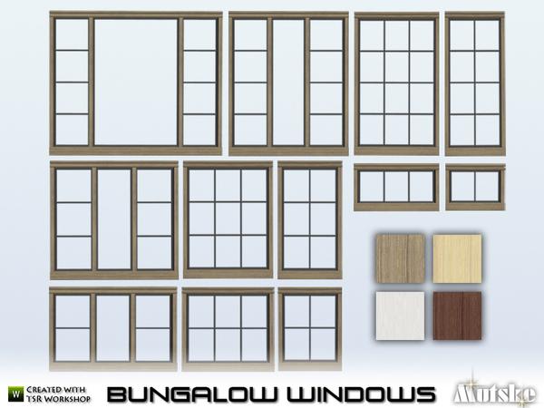 Bungalow Windows by Mutske at TSR image 660 Sims 4 Updates