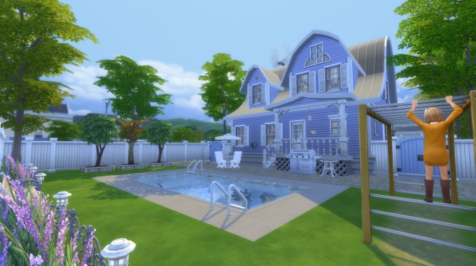 download houses sims 4