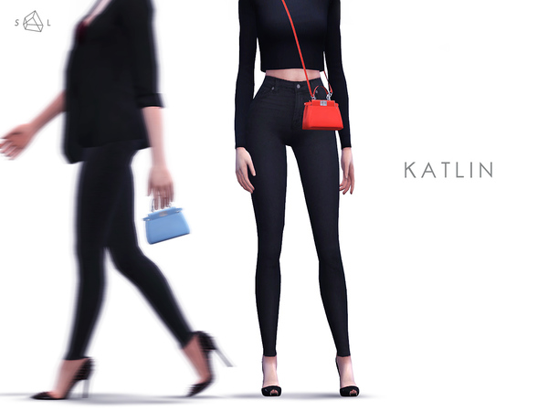 Sims 4 KATLIN Micro Leather Shoulder Bag by starlord at TSR