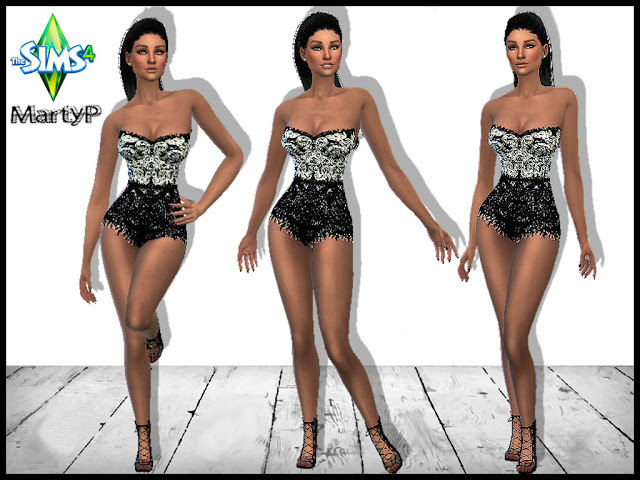 In the Mood Pose Set at MartyP Sims4 image 6915 Sims 4 Updates