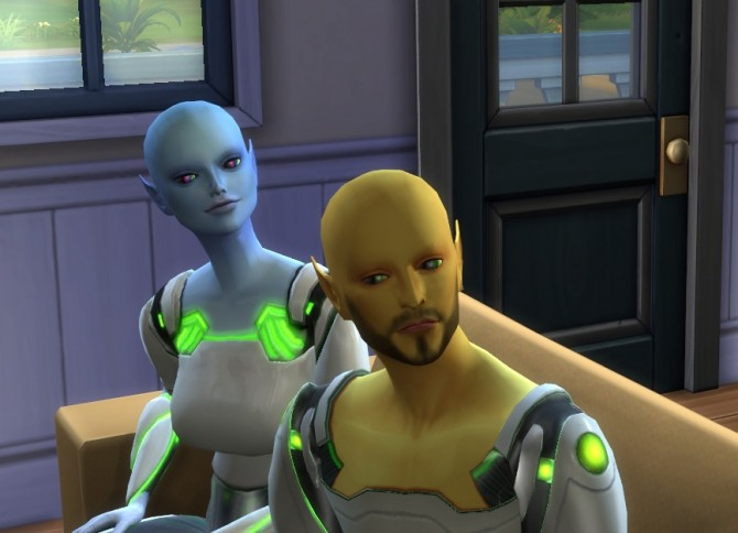 Sims 4 Tech style eyes by Erling1974 at Mod The Sims