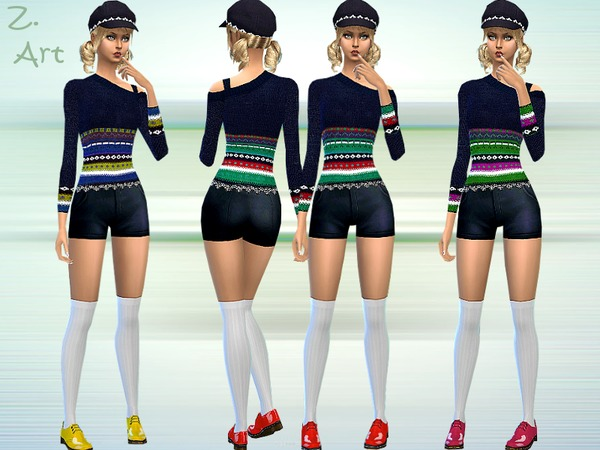 Sims 4 Teenies Own Style by Zuckerschnute20 at TSR