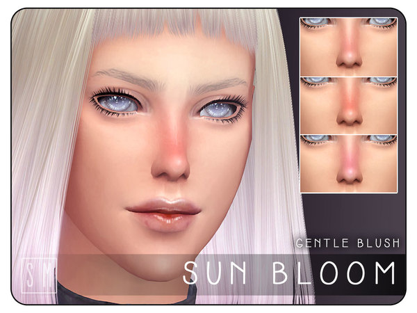 Sims 4 Sun Bloom Gentle Blush by Screaming Mustard at TSR