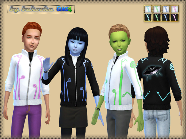 Sims 4 Jacket UFO by bukovka at TSR