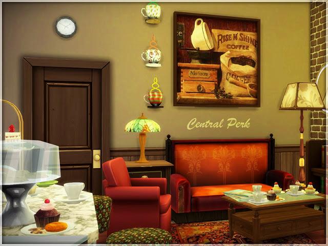 Central Perk set by Li.Ko at Sims Studio image 744 Sims 4 Updates