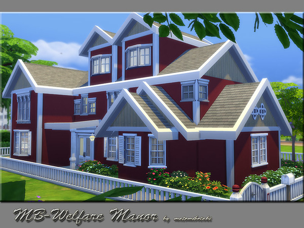 MB Welfare Manor by matomibotaki at TSR image 749 Sims 4 Updates