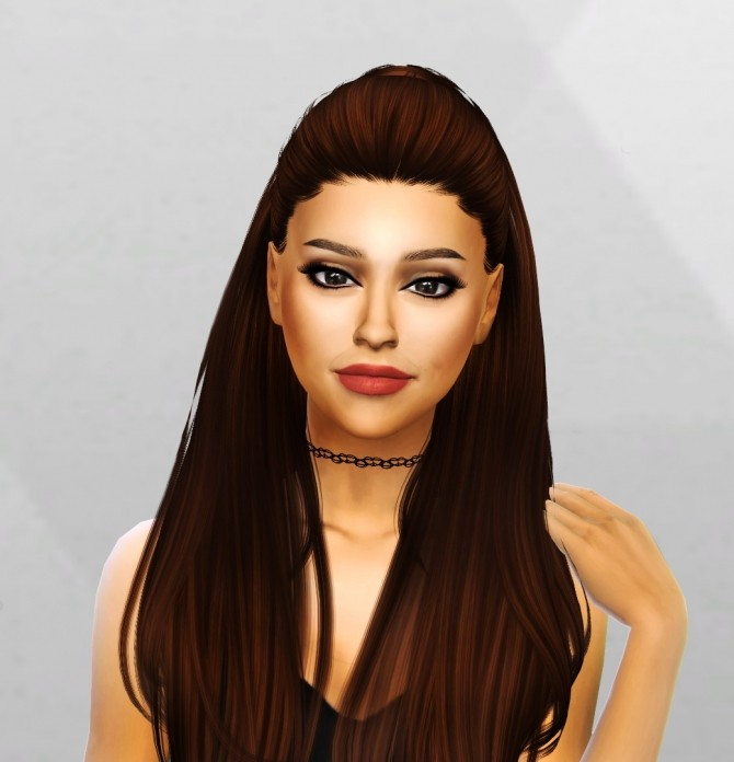 Ariana Grande Sim and Face Mask at Simpliciaty image 7514 670x696 Sims 4 Updates