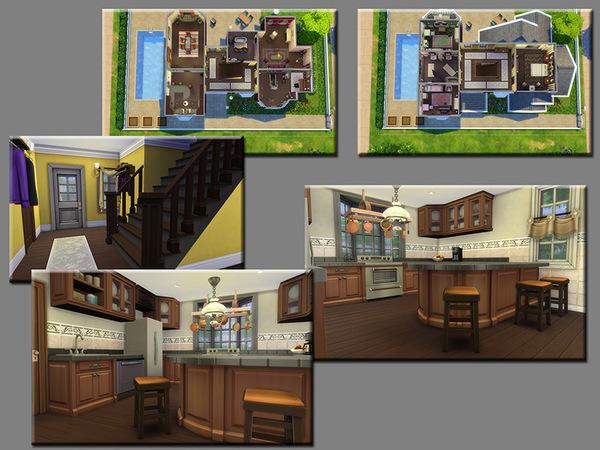 Sims 4 MB Welfare Manor by matomibotaki at TSR