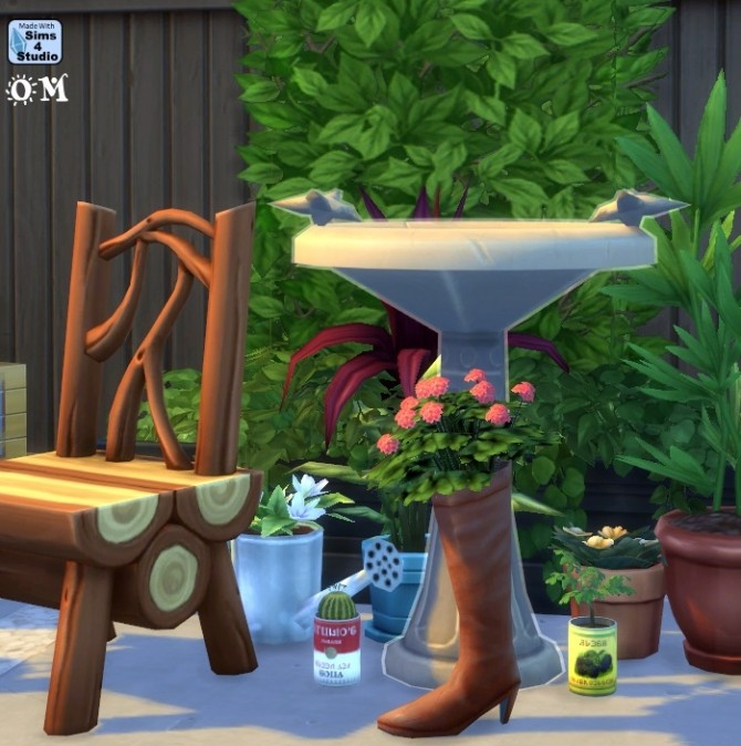 Repurposed boot with plant by OM at Sims 4 Studio image 776 670x674 Sims 4 Updates