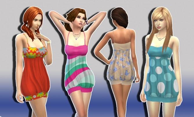 Sims 4 Teen Dress Conversion at My Stuff